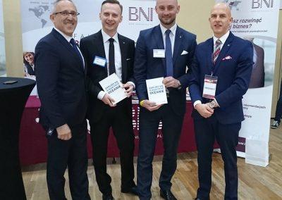 Z dyrektorami narodowymi BNI Polska